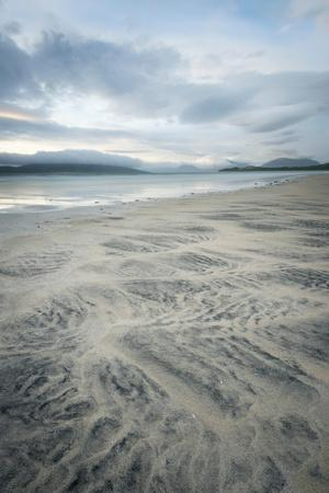 Sand Patterns on Seilebost Beach, Isle of Harris, Outer Hebrides, Scotland