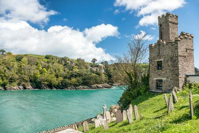 Dartmouth Castle That Guard the Mouth of the Dart Estuary in Devon, England