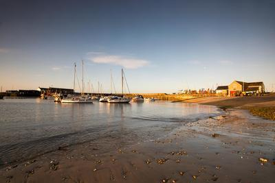 Sunrise in Lyme Regis, Dorset England UK