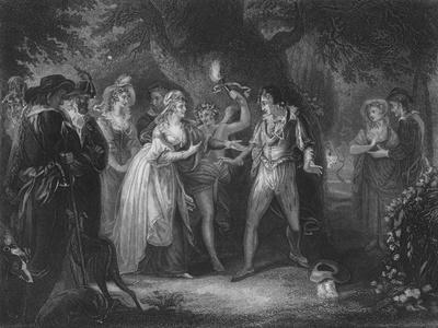Act V Scene iv from As You Like It, c19th century