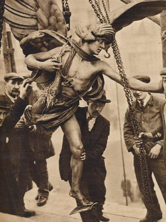The removal of Eros, 1925, (1938)