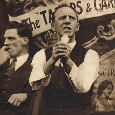 A. J. Cook led the Miners and the miners led the strike, c1926, (1938)