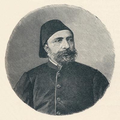 Ahmed Sefik Midhat Pasha, c1906, (1907)