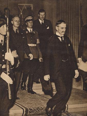 The Meeting at Berchtesgaden, 1938, (1938)