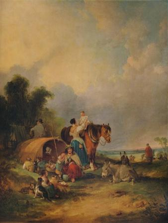 A Gipsy Encampment, c1788