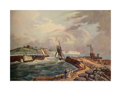 Cutter Entering Dover Harbour, 1819
