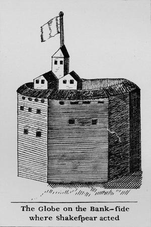 The Globe on the Bank-side where Shakespeare acted, c1600, (1912)