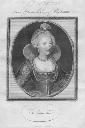 Anne of Denmark, Queen of King James I, 1786