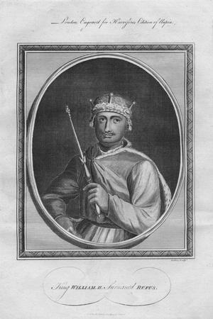 King William II (William Rufus), 1786