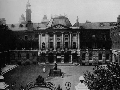 Guys Hospital, c1900, (1912)
