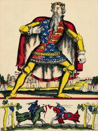 Edward III, King of England from 1327, (1932)