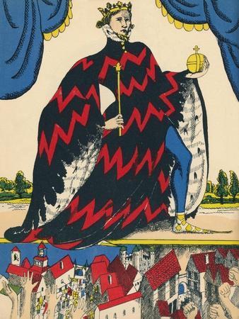 Richard II, King of England from 1377, (1932)