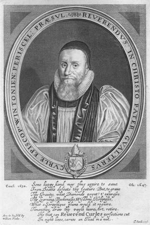 Walter Curll (Curle), Bishop of Winchester (1575-1647), 17th century