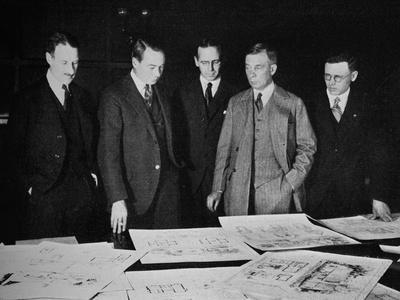Jury for the Lehigh Portland Cement Home Competition, 1926