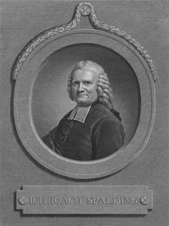 IOH. IOACH. SPALDING, 1778