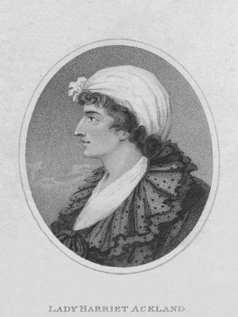 Lady Harriet Ackland, 1800