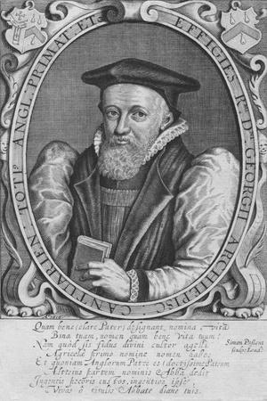 Effigies R.Mi D.Ni Georgii Archiepisc: Cantuarien: Toti Angl: Primat: Etc, 1616