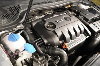 2008 Skoda Superb engine