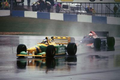Benetton B193A Michael Schumacher 1993 Euro GP at Donington