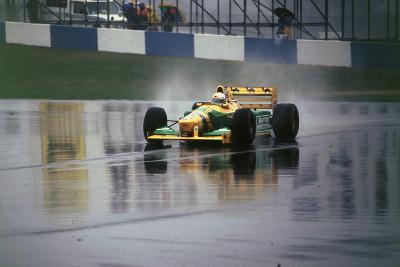 Benetton B193A Ricardo Patrese 1993 Euro GP at Donington