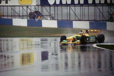 Benetton B193A Michael Schumacher 1993 Euro GP at Donington