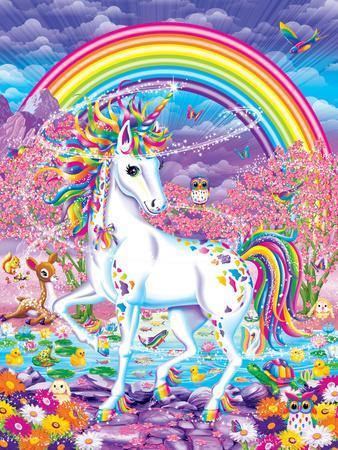 Rainbow Colored Room