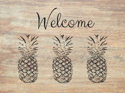 Welcome on Wood