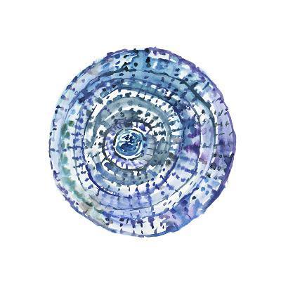 Watery Blue Mandala 1