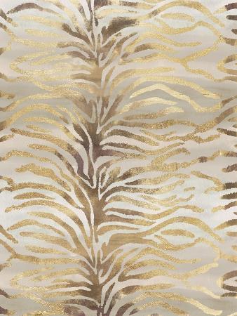 Gilded Zebra Print