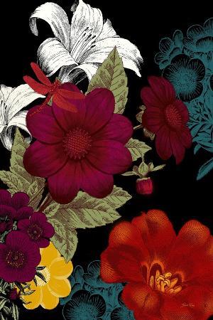 Vibrant Florals Black 2