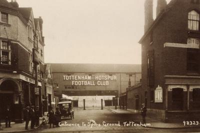 Entrance to Tottenham Hotspur Football Ground, C. 1906