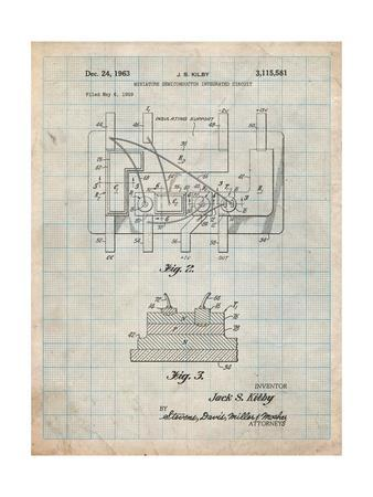 First Integrated Circuit Patent