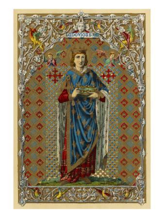 Louis IX King of France, Crusader and Saint