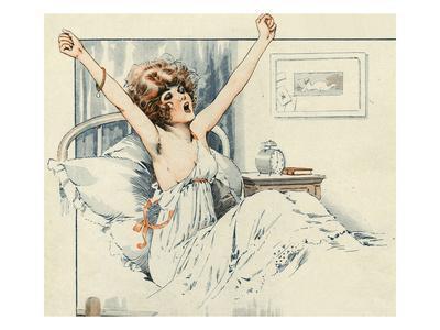 La Vie Parisienne, Maurice Milliere, 1919, France
