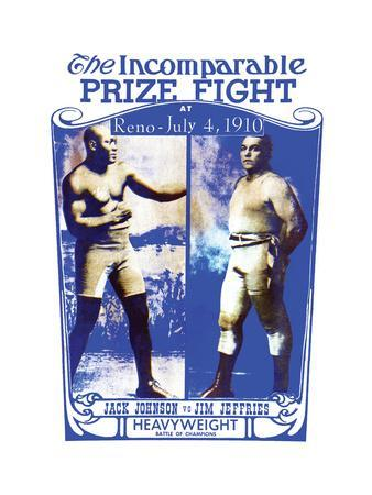 """Johnson Vs. Jeffries """"The Incomparable Prize Fight"""""""
