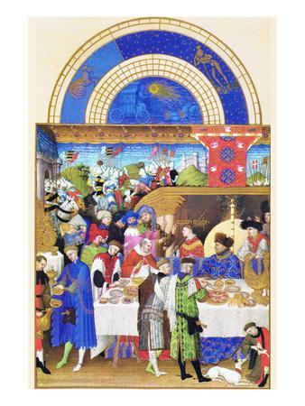 Le Tres Riches Heures Du Duc De Berry - January