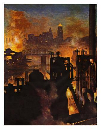 """Steel Mills,"" November 23, 1946"