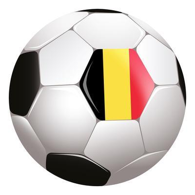 Soccerball with Country Flag