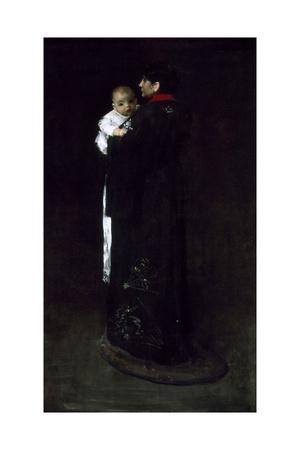 Mother and Child (The First Portrait), C. 1888