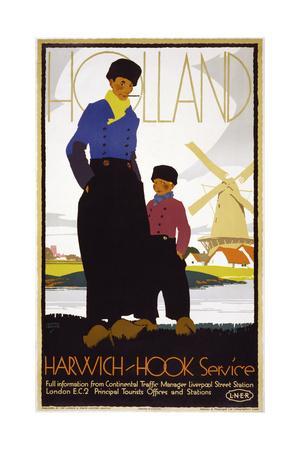 Holland, Harwich-Hook Service