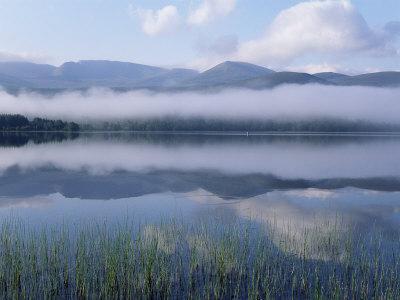 Dawn Over Loch Morlich, Cairngorms National Park, Scotland