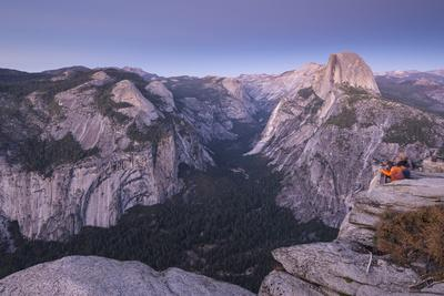 Half Dome and Yosemite Valley from Glacier Point, Yosemite National Park, California