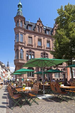 Germany, Heidelberg, Old Town, Gastronomy