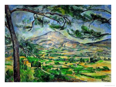Mont Sainte-Victoire with Large Pine-Tree, circa 1887