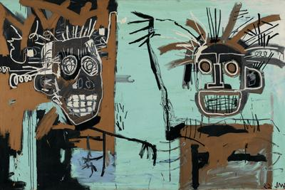 Untitled (Two Heads on Gold) 1982