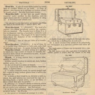 "Travel Encyclopedia ""Trundle & Trunks"""