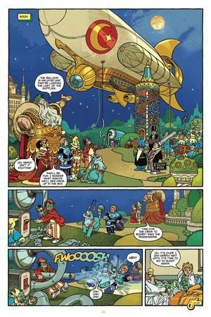 Little Nemo: Return to Slumberland - Comic Page with Panels