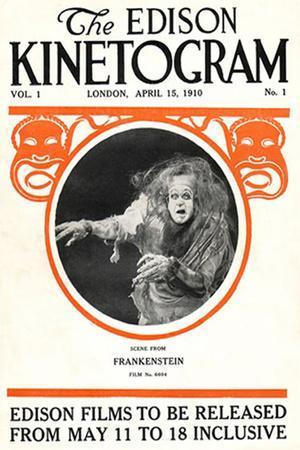 Frankenstein Movie Augustus Phillips 1910 Poster Print
