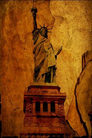 Paper Statue Of Liberty