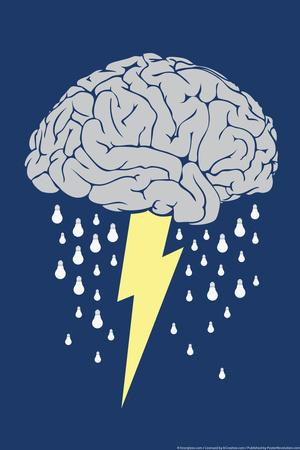 Brainstorm Snorg Tees Poster
